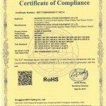 ROHS-Bubble-Machine-certification